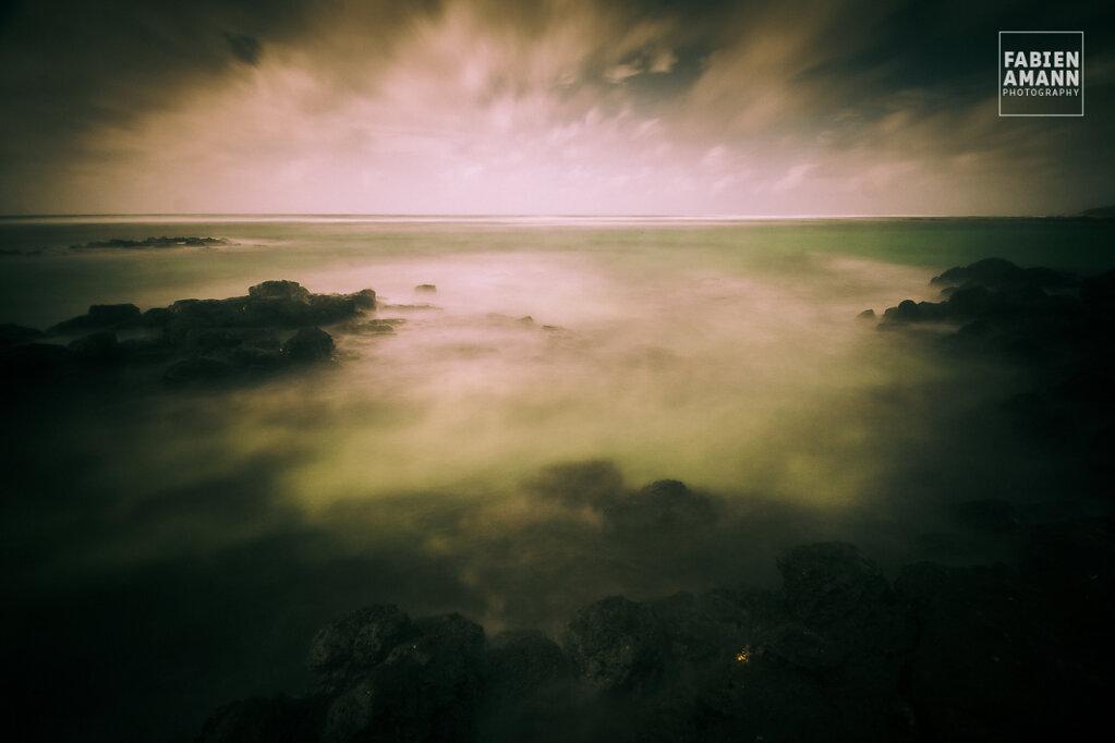 The wide ocean